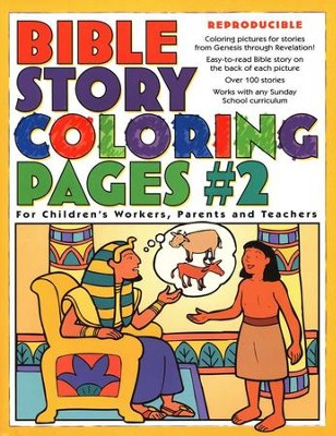 bible story coloring pages 2 - Bible Story Coloring Pages
