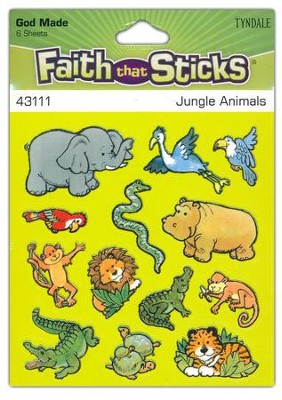 Stickers: Jungle Animals  -