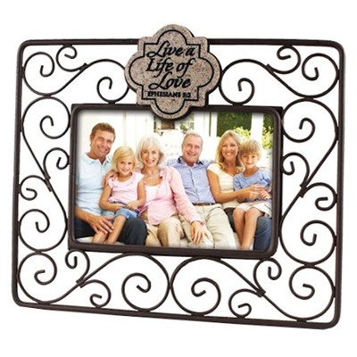 Live a Life of Love Photo Frame  -
