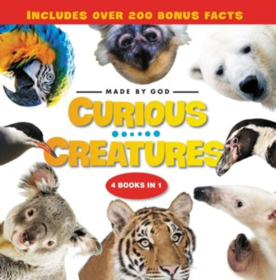 Curious Creatures: 4 Books in 1  -     By: Zondervan