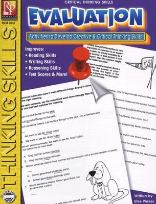 Critical Thinking: Evaluation   -