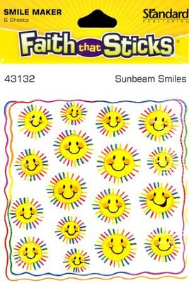 Stickers: Sunbeam Smiles  -