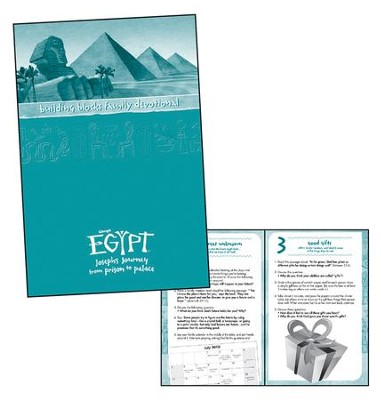 Egypt VBS 2016: Building Blocks Family Devotional Booklets, pack of 10  -