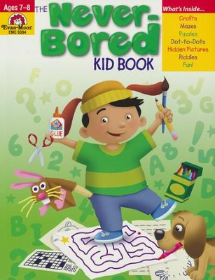 The Never-Bored Kid Book, Ages 7-8   -