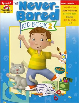 The Never-Bored Kid Book 2, Ages 4-5   -