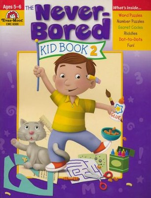 The Never-Bored Kid Book 2, Ages 5-6   -