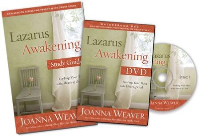 Lazarus Awakening DVD Study Pack: Finding Your Place in the Heart of God  -     By: Joanna Weaver