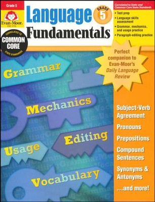 Language Fundamentals, Grade 5  -