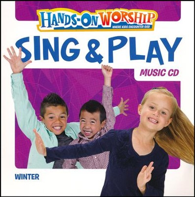 Hands-On Worship Sing & Play CD, Winter  -