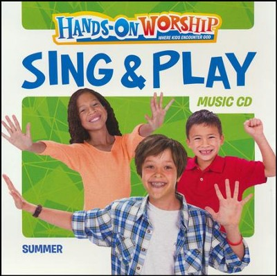 Hands-On Worship Sing & Play CD, Summer  -