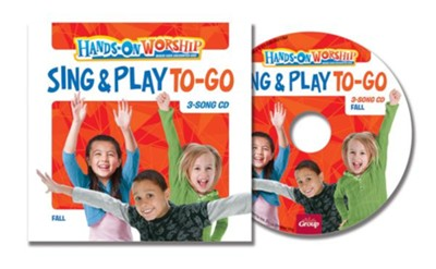 Hands-On Worship Sing & Play CD 5-Pack, Fall  -