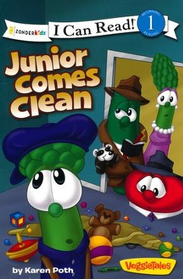 Junior Comes Clean    -