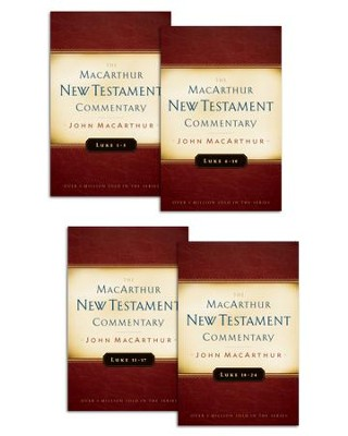 Luke 1-24 MacArthur New Testament Commentary Set / Digital original - eBook  -     By: John MacArthur