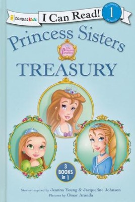 Princess Sisters Treasury  -     By: Jeanna Young, Jacqueline Johnson     Illustrated By: Omar Aranda