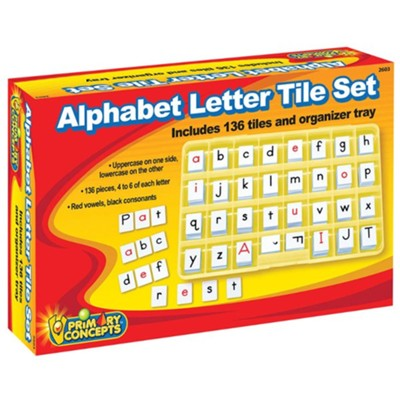 Alphabet Letter Tile Set   -