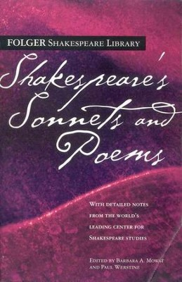 Shakespeare's Sonnets & Poems  -     By: William Shakespeare