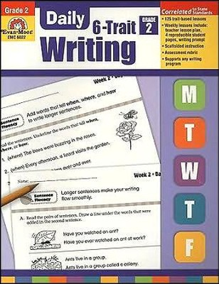 Daily 6-Trait Writing, Grade 2  -