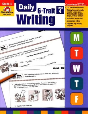 Daily 6-Trait Writing Grade 4   -