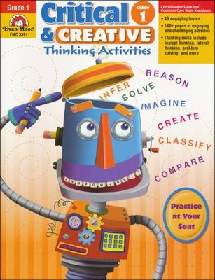 Critical and Creative Thinking Activities, Grade 1  -