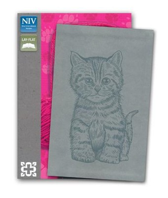 Curious Kittens Bible, Gray  -