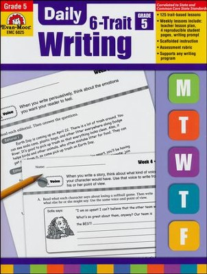 Daily 6-Trait Writing, Grade 5  -