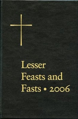 Lesser Feasts and Fasts - eBook  -