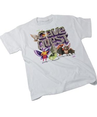 Cave Quest VBS 2016: Theme Adult T-shirt, X-Large (46-48)   -