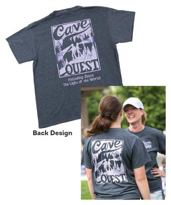 Cave Quest VBS 2016: Staff T-Shirt, X-Large (46-48)   -