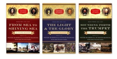 Discovering God's Plan for America Series, 3 Volumes  -     By: Peter Marshall, David Manuel, Anna Wilson Fishel