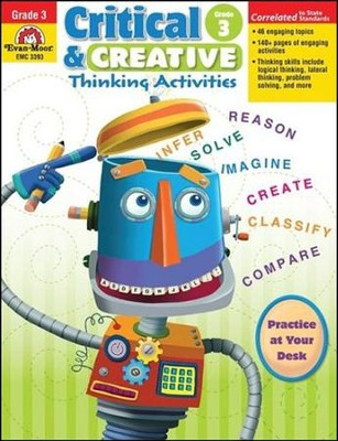 Critical and Creative Thinking Activities, Grade 3  -
