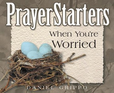 PrayerStarters When You're Worried / Digital original - eBook  -     By: Daniel Grippo