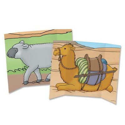 Camel/Sheep Trifold  -