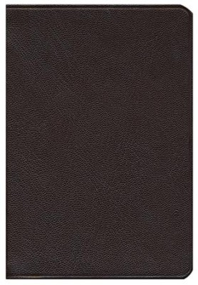 ESV Pitt Minion Reference, Goatskin, Brown  -