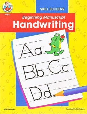 Beginning Manuscript Handwriting  -