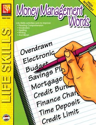 Life-Skill Lessons: Money Management Words   -