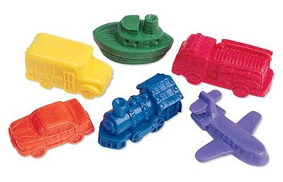 Mini Motors Counters, Set of 72  -     By: Homeschool