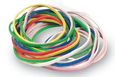 Rubberband Set (1/4 lb.)  -     By: Homeschool