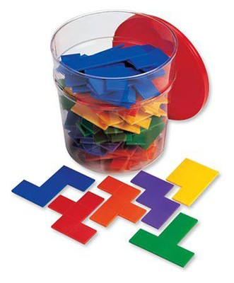 Rainbow Premier Pentominoes in Bucket  -     By: Homeschool
