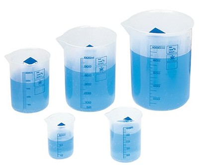 Graduated Beakers, Set of 5  -     By: Homeschool