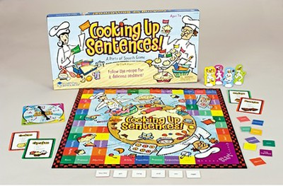 Cooking Up Sentences! A Parts of Speech Game   -