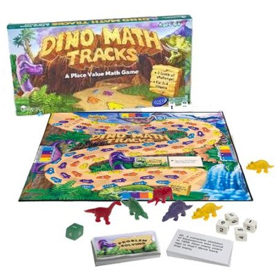Dino Math Tracks: A Place Value Math Game   -