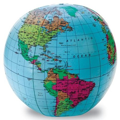 Inflatable Globe (12 inches)   -