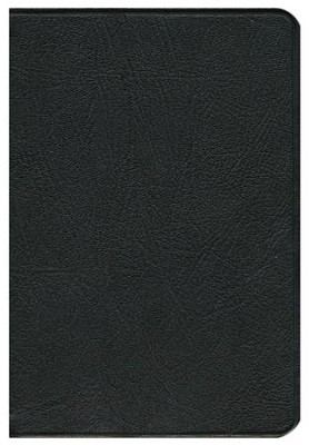 NLT Pitt Minion Reference Bible, Goatskin leather, black  -