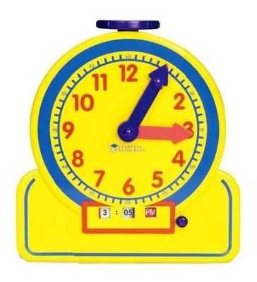 Junior 12-Hour Learning Clock   -