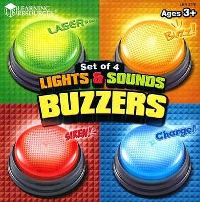 Lights and Sounds Buzzers (Set of 4)   -