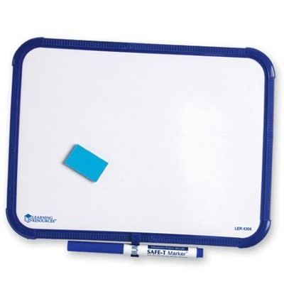 Plain Single-Sided Dry-Erase Framed Board Set   -
