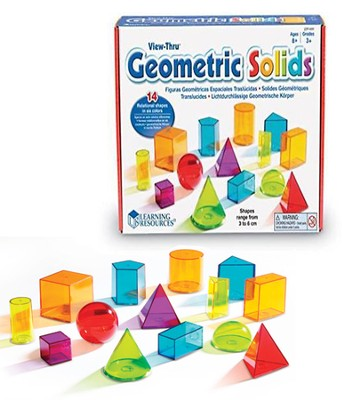 View-Thru Geometric Solids   -