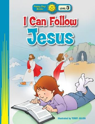 I Can Follow Jesus  -     By: Terry Julien (Illustrator)     Illustrated By: Terry Julien