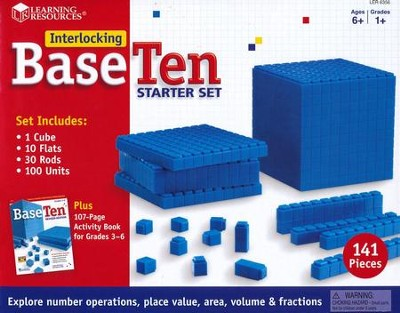 Interlocking Base Ten - Starter Set   -