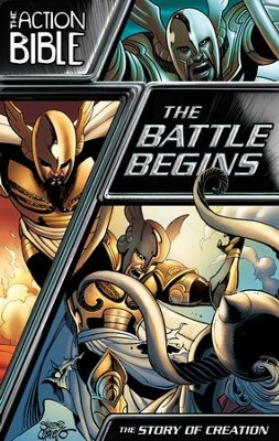 The Battle Begins: The Story of Creation - eBook  -     By: Caleb Seeling